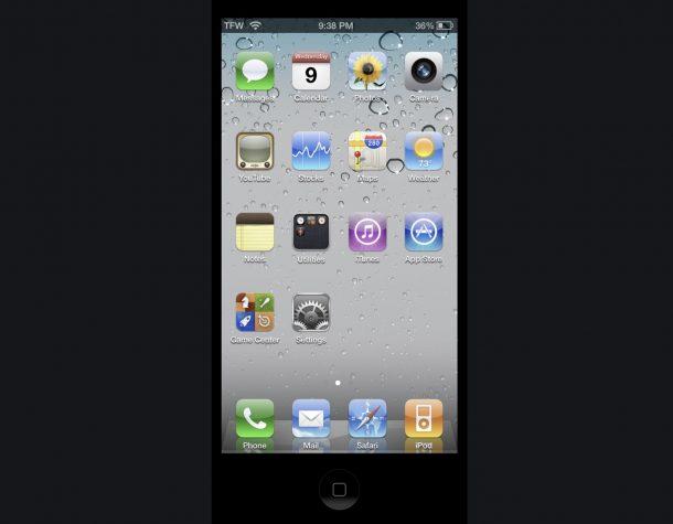 OldOS is iOS 4 as an app