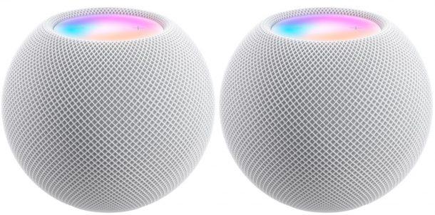 HomePod mini paired speakers