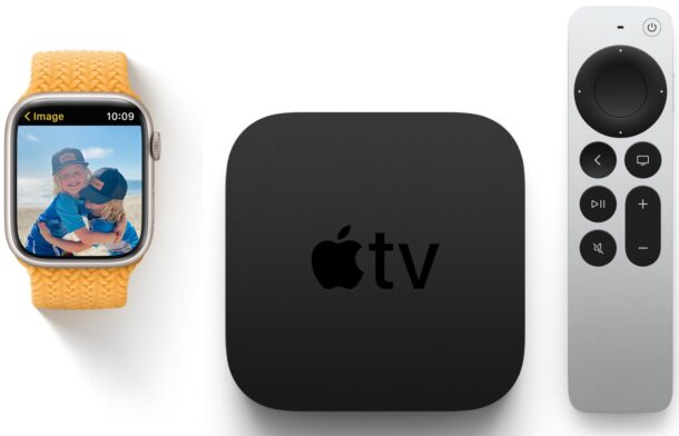 Apple Watch and Apple TV software updates