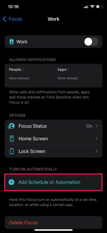 How to Use Focus Mode on iPhone and iPad