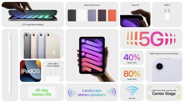iPad mini infographic