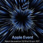 Apple Event October 2021