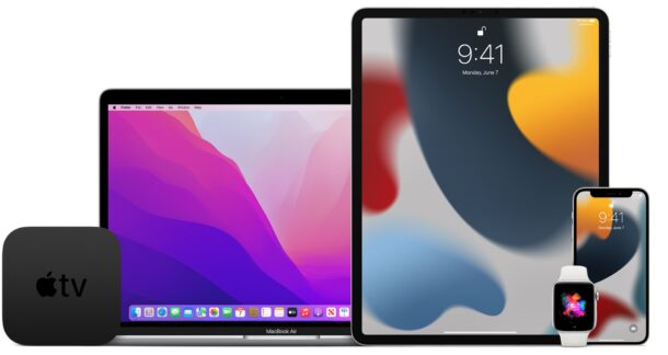 macOS Monterey RC and iOS 15.1/iPadOS 15.1 RC